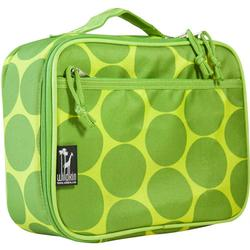 Wildkin 33086 Big Dots Green Lunch Box