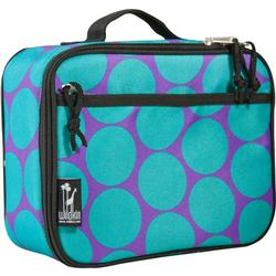 Wildkin 33119 Big Dots Aqua Lunch Box