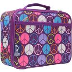 Wildkin 33212 Peace Signs - Purple Lunch Box