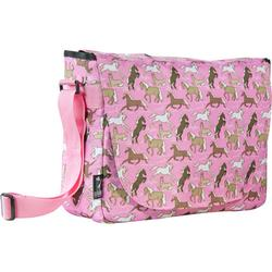 Wildkin 38020 Horses in Pink Laptop Messenger Bag