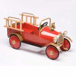 Airflow Collectibles AF103 Fire Engine Pedal Car