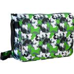 Wildkin 38088 Green Camo Laptop Messenger Bag