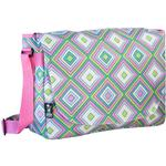 Wildkin 38115 Pink Retro Laptop Messenger Bag