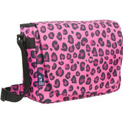 Wildkin 38214 Pink Leopard Laptop Messenger Bag