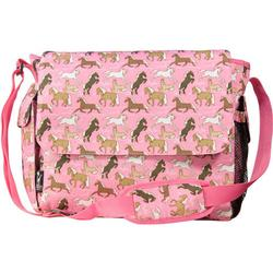 Wildkin 47020 Horses in Pink Diaper Bag