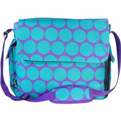 Wildkin 47119 Big Dots Aqua Diaper Bag