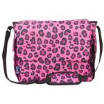 Wildkin 47214 Pink Leopard Diaper Bag