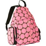 Wildkin 49085 Big Dots Pink Ball n All Sports Backpack