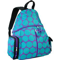 Wildkin 49119 Big Dots Aqua Ball n All Sports Backpack