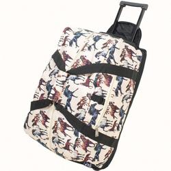 Wildkin 51025 Horse Dreams Good Times Rolling Duffel Bag