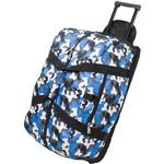 Wildkin 51213 Blue Camo Good Times Rolling Duffel Bag