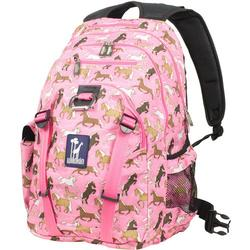 Wildkin 53020 Horses in Pink Serious Backpack