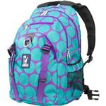 Wildkin 53119 Big Dots Aqua Serious Backpack