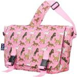 Wildkin 54020 Horses in Pink Jumpstart Messenger Bag
