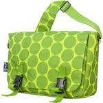 Wildkin 54086 Big Dots Green Jumpstart Messenger Bag