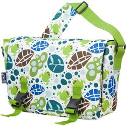 Wildkin 54117 Lily Frogs Jumpstart Messenger Bag