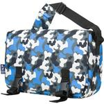Wildkin 54213 Blue Camo Jumpstart Messenger Bag