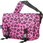 Wildkin 54214 Pink Leopard Jumpstart Messenger Bag