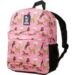 Wildkin 57020 Horses in Pink Crackerjack Backpack