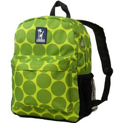 Wildkin 57086 Big Dots Green Crackerjack Backpack