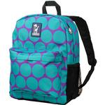 Wildkin 57119 Big Dots Aqua Crackerjack Backpack