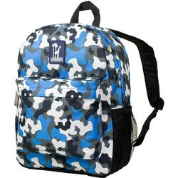 Wildkin 57213 Blue Camo  Crackerjack Backpack