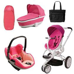Quinny CV078BFU Moodd Prezi Complete Collection in Pink Passion