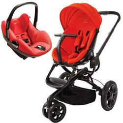 Quinny CV078BHR Moodd Stroller Travel system with Prezi car seat - Red Envy