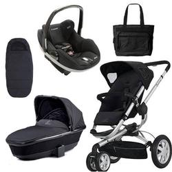 Quinny CV155RKB Buzz 3/Prezi Complete Collection - Rocking Black