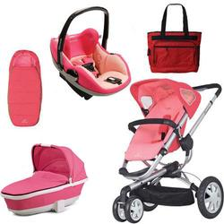 Quinny CV155BFX Buzz 3/Prezi Complete Collection - Pink Blush