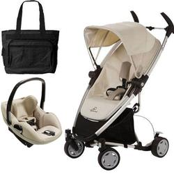Quinny CV217BFY Zapp Xtra Travel system with diaper bag and Prezi car seat - Natural Mavis
