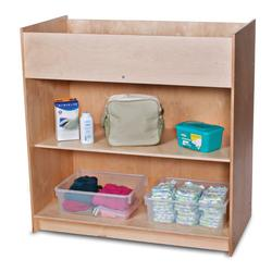 Foundations 1673047 SafetyCraft Changing Table - Natural