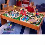 KidKraft 17836 Ride Around Town Train Set, 100 pcs
