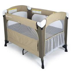 Foundations 1551117 Elite Portable Crib - Cilantro