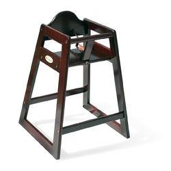 Foundations 4501859 Wood High Chairs - Antique Cherry