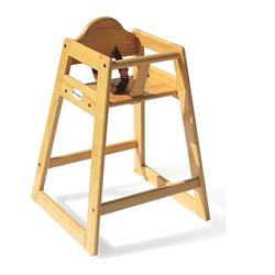 Foundations 4501049 Wood High Chairs - Natural