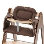 i'coo 666135 Pharo high chair - Walnut/Natural