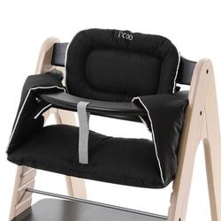 i'coo 666111 Pharo high chair - Black/Whitewash