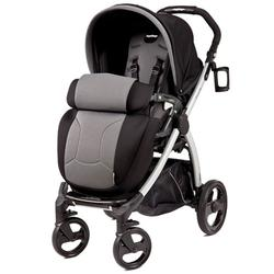 Peg Perego IPBR30NA34FT13MJ53 Book Plus Stroller - Stone-Black/Grey