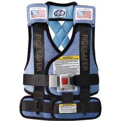 Safe Traffic Systems JK12170BWB Safe Rider 3 Travel Vest Large (50 to 80 lb) - Blue