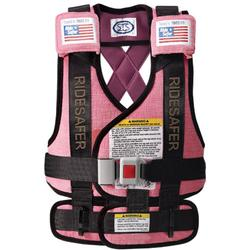 Safe Traffic Systems JK12170PWB Safe Rider 3 Travel Vest Large (50 to 80 lb) - Pink