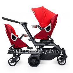 Orbit Baby ORB841000 Helix G2 Double Stroller in Ruby/Red