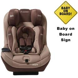 Maxi-Cosi CC034WBN - Pria 70 Air Convertible Car Seat w/Baby on Board Sign (Walnut Brown)