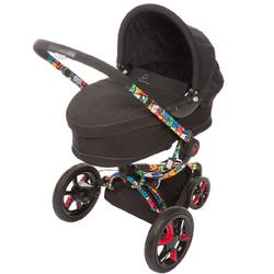 Quinny CV218BTT Britto Moodd Stroller Travel Systems w/Dreami bassinet (Black)
