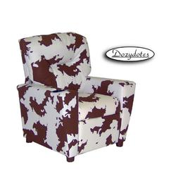 Dozydotes 11727 Fabric Children's Recliner with Cup Holder - Giddy Up