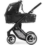 Mutsy DIV005 Raincover  for the EVO  Carrycot - Clear