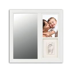 Baby Art, FR018WHO Mirror Print Frame - White