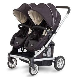 Valco Baby SPT0595 Spark Duo Twin Stroller - Black Out