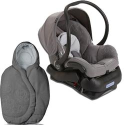 Maxi-Cosi IC099SLG Mico Infant Car Seat with Footmuff - Steel Grey