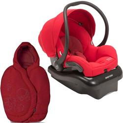 Maxi-Cosi Mico AP Infant Car Seat with footmuff - Red